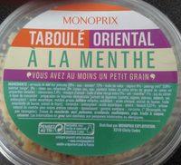 Taboulé oriental à la menthe - Produit