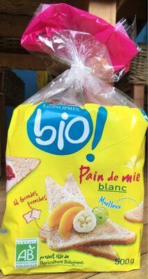 Pain de mie blanc Bio - Prodotto - fr