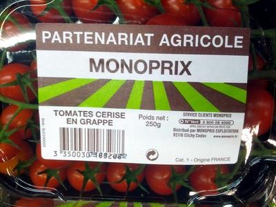 Tomates cerise en grappe - Product
