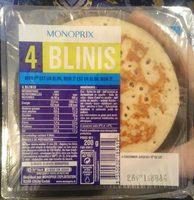 4 blinis - Produit - fr