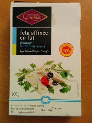 Feta AOP (24% MG) affinée en fût - 200 g - Monoprix Gourmet - Product