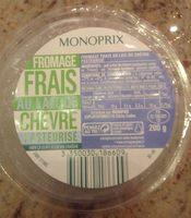 Fromage Frais au Lait de Chèvre Pasteurisé - Producto