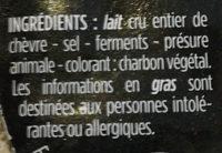 Selles sur Cher, AOP - Ingrédients - fr