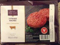 2 steaks hachés - Produit - fr