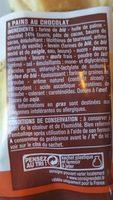 Pains au chocolat - Ingrediënten - fr