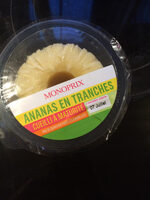 Ananas en tranches - Product - fr