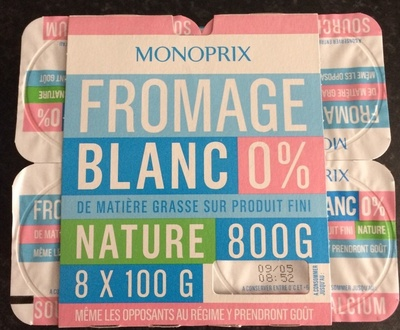 Fromage blanc Nature 0% - Product