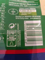 Parmigiano Reggiano AOP râpé (28% MG) - 70 g - Monoprix - Instruction de recyclage et/ou informations d'emballage - fr