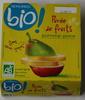 Purée de fruits Pomme Poire - Produit