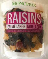 Raisins sans pépin en mélange - Produit - fr