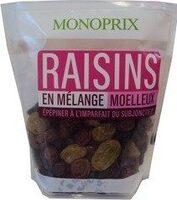 Raisins sans pépin en mélange - Product - fr