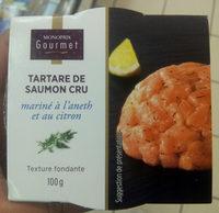 Tartare de saumon cru - Produit - fr