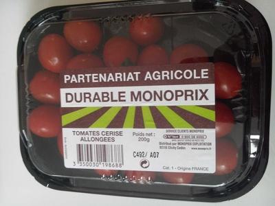 Tomates cerise allongées - Product