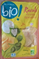 Raviolis ricotta épinards aux œufs Bio - Product - fr