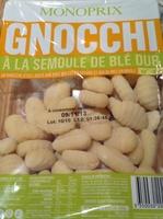 Gnocchi à la semoule de blé dur - Produit - fr