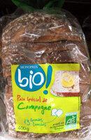 Pain spécial de Campagne Bio - Product - fr
