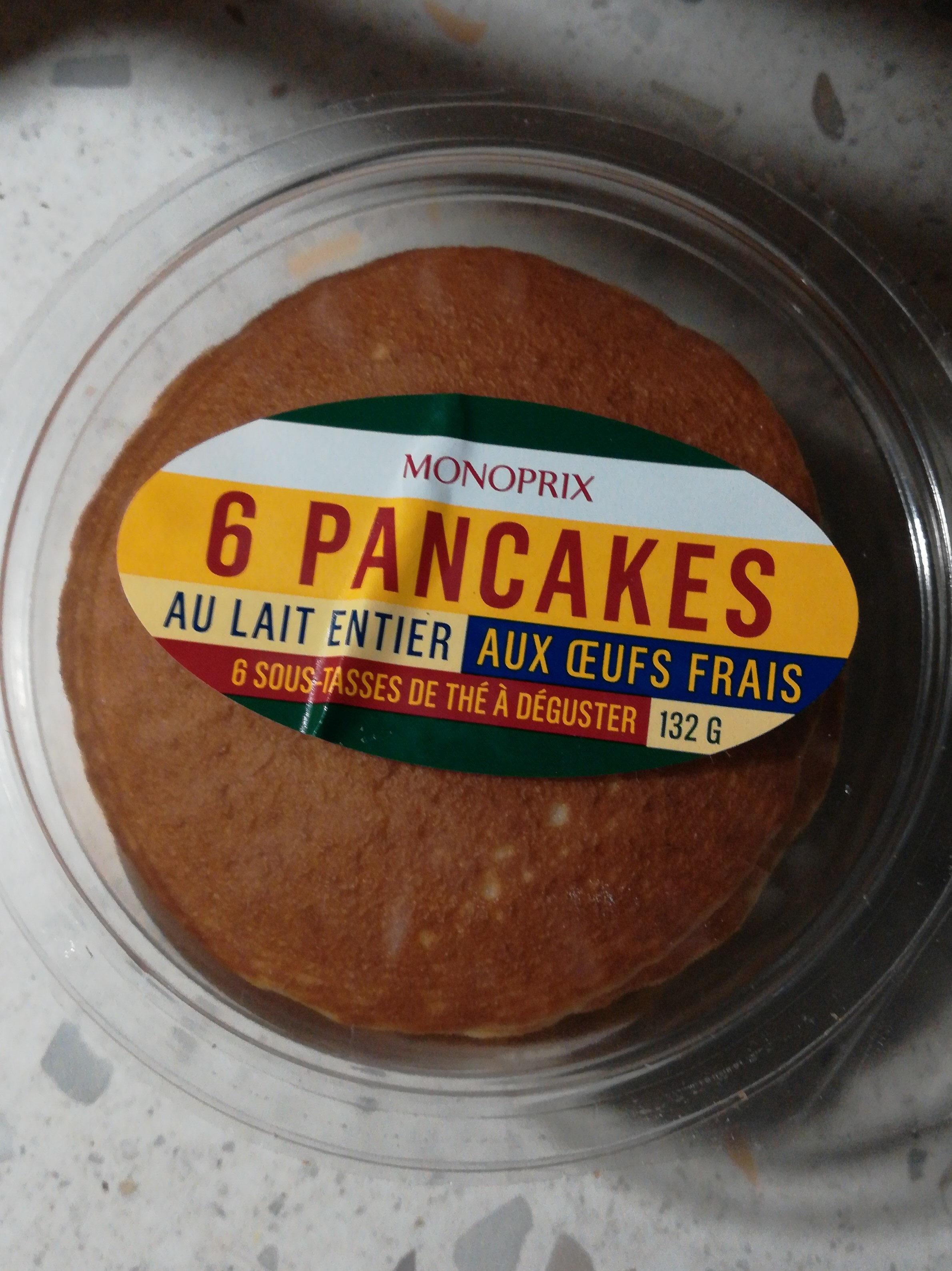 Pancakes nature frais - Product - ca