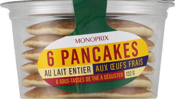 Pancakes nature frais - Produit - fr