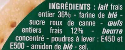 Pancakes nature frais - Ingrédients - fr