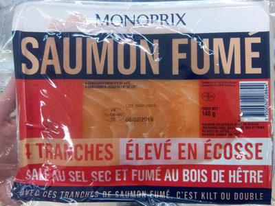Saumon fumé élevé en Ecosse - Product - fr