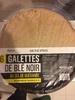 6 Galettes de blé noir au sel de guérande - Produit