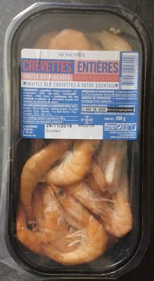 Crevettes entières - Produit - fr