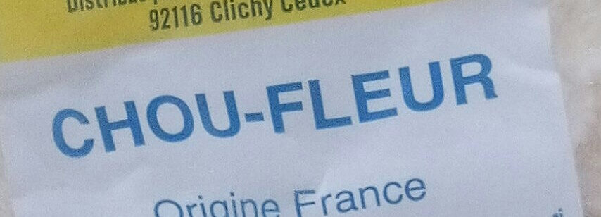Chou-fleur - Ingredients - fr