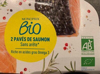Pavés de saumon bio - Product