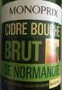 Cidre bouché brut de Normandie - Product