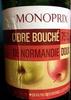 Cidre bouché de Normandie doux - Product