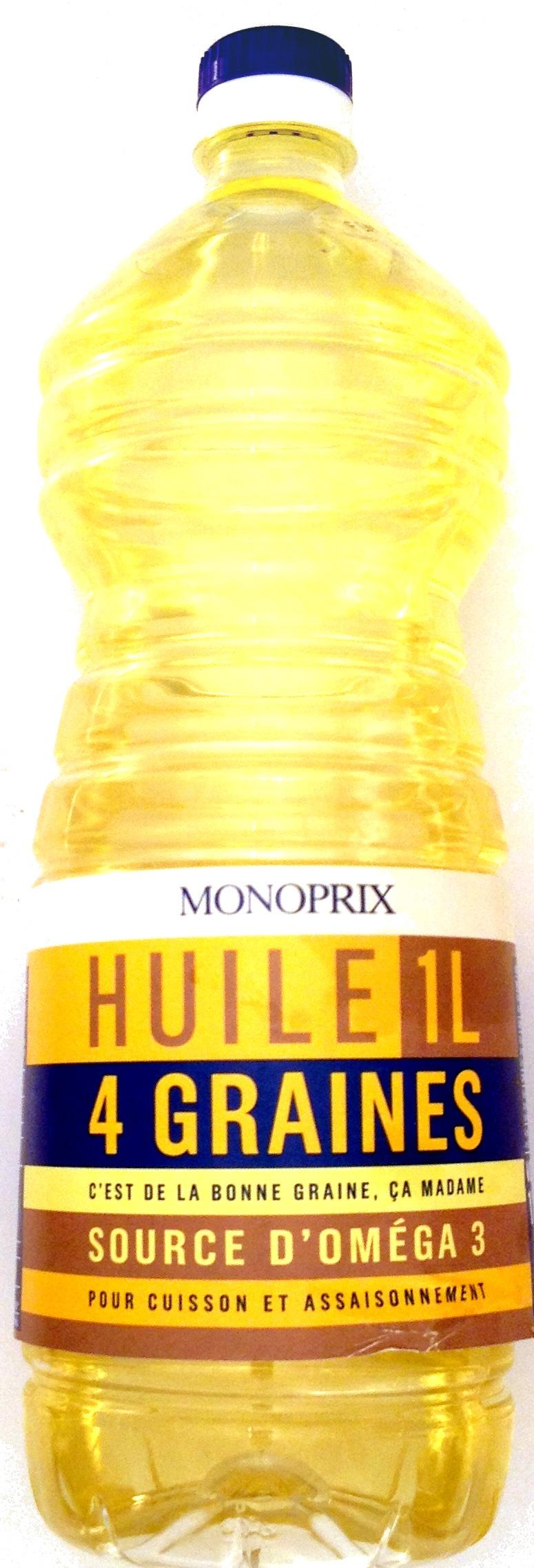 huile colza monoprix