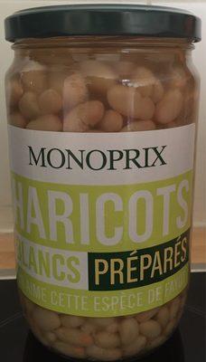 Haricots blancs préparés - Product