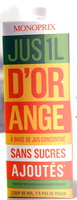 Jus d'orange Monoprix - Produit
