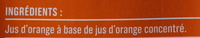Jus d'orange Monoprix - Ingredients - fr