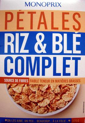 Pétales riz et blé complet Monoprix - Produit