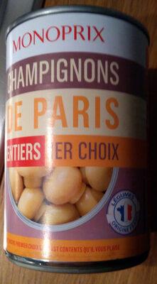 Champignons de Paris entiers 1er choix - Product - fr