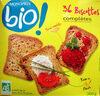 36 Biscottes complètes Bio Monoprix - Product