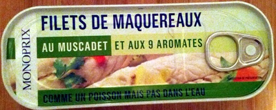 Filets de Maquereaux (au Muscadet et aux 9 Aromates) - Produit
