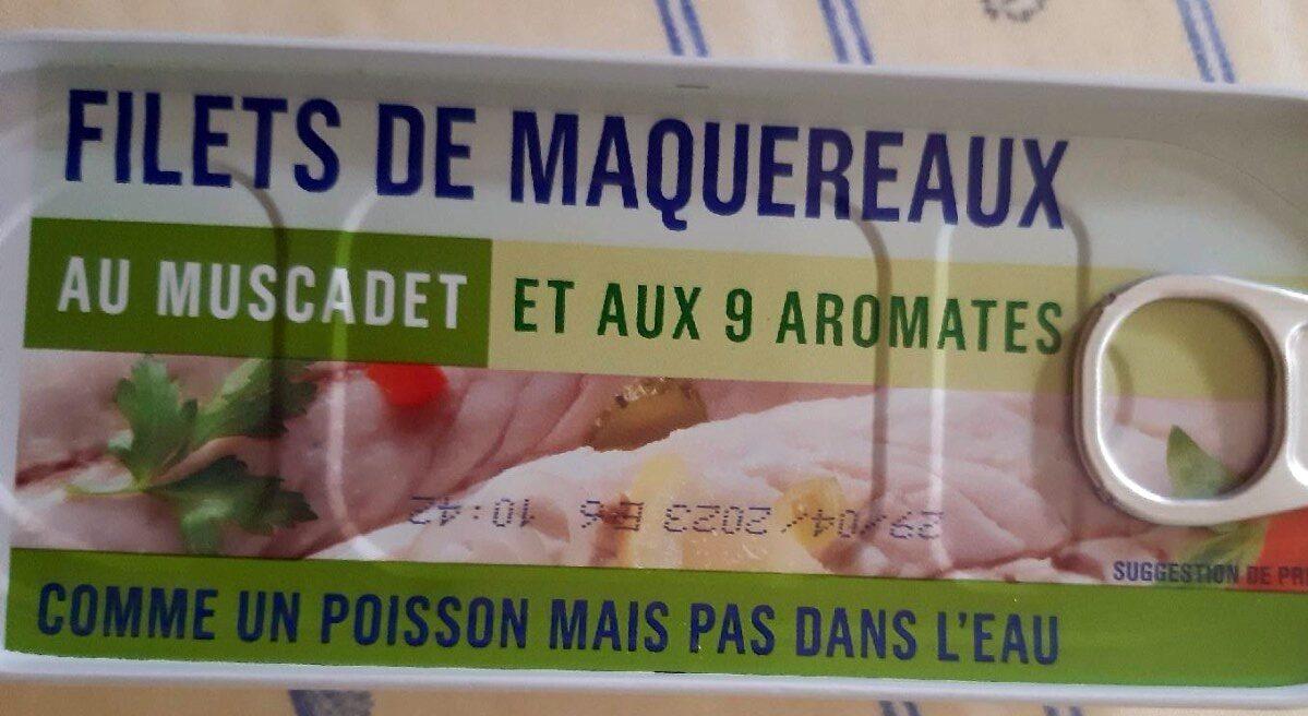 Filets de Maquereaux au Muscadet et aux 9 Aromates - Produit - fr