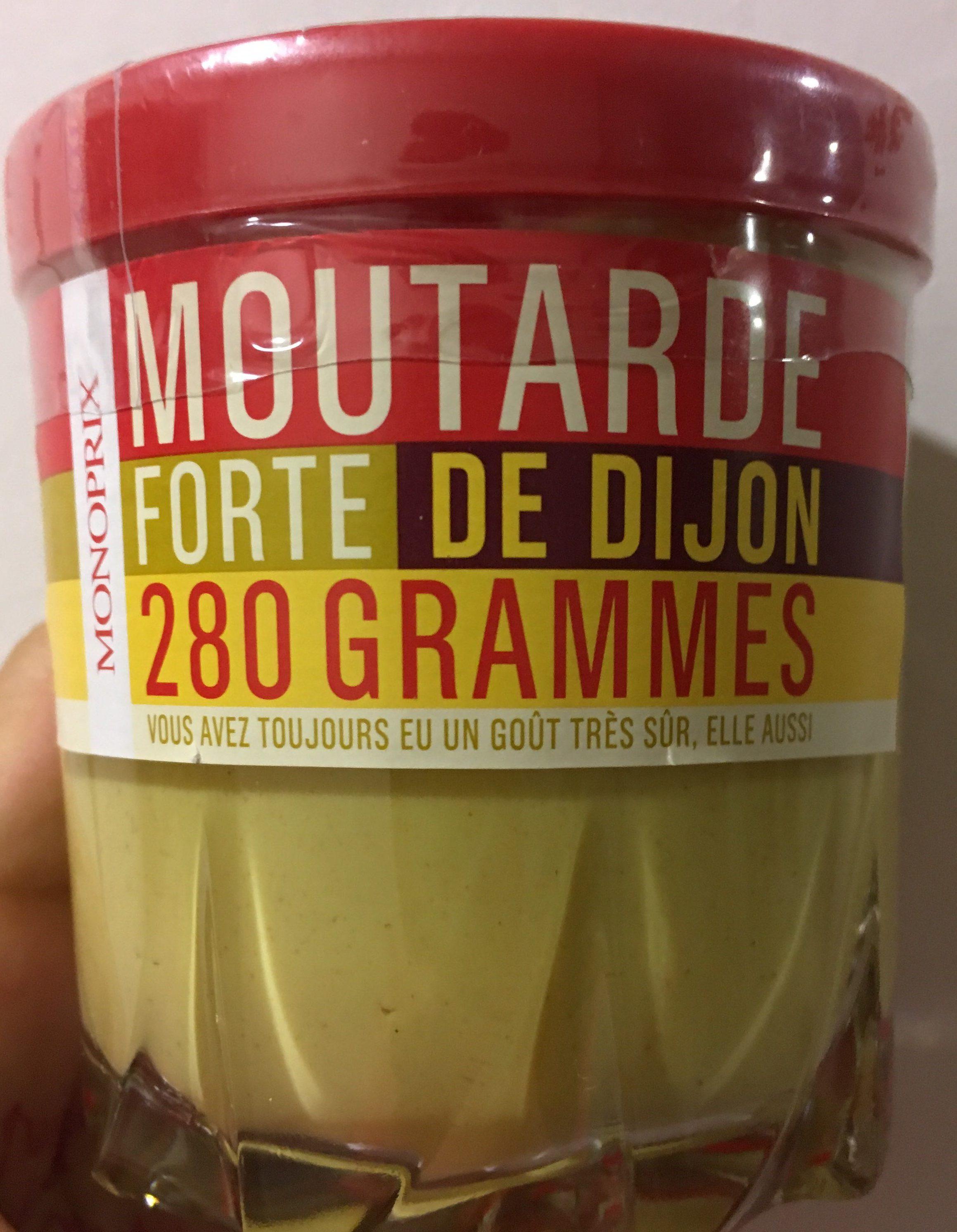 Moutarde forte de Dijon - Produit