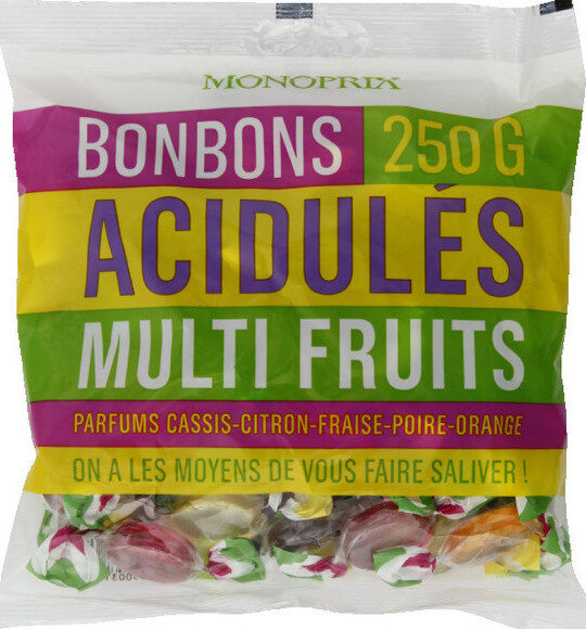 Bonbons acidulés multifruits - Produit - fr