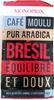 Café moulu pur arabica Brésil - Product