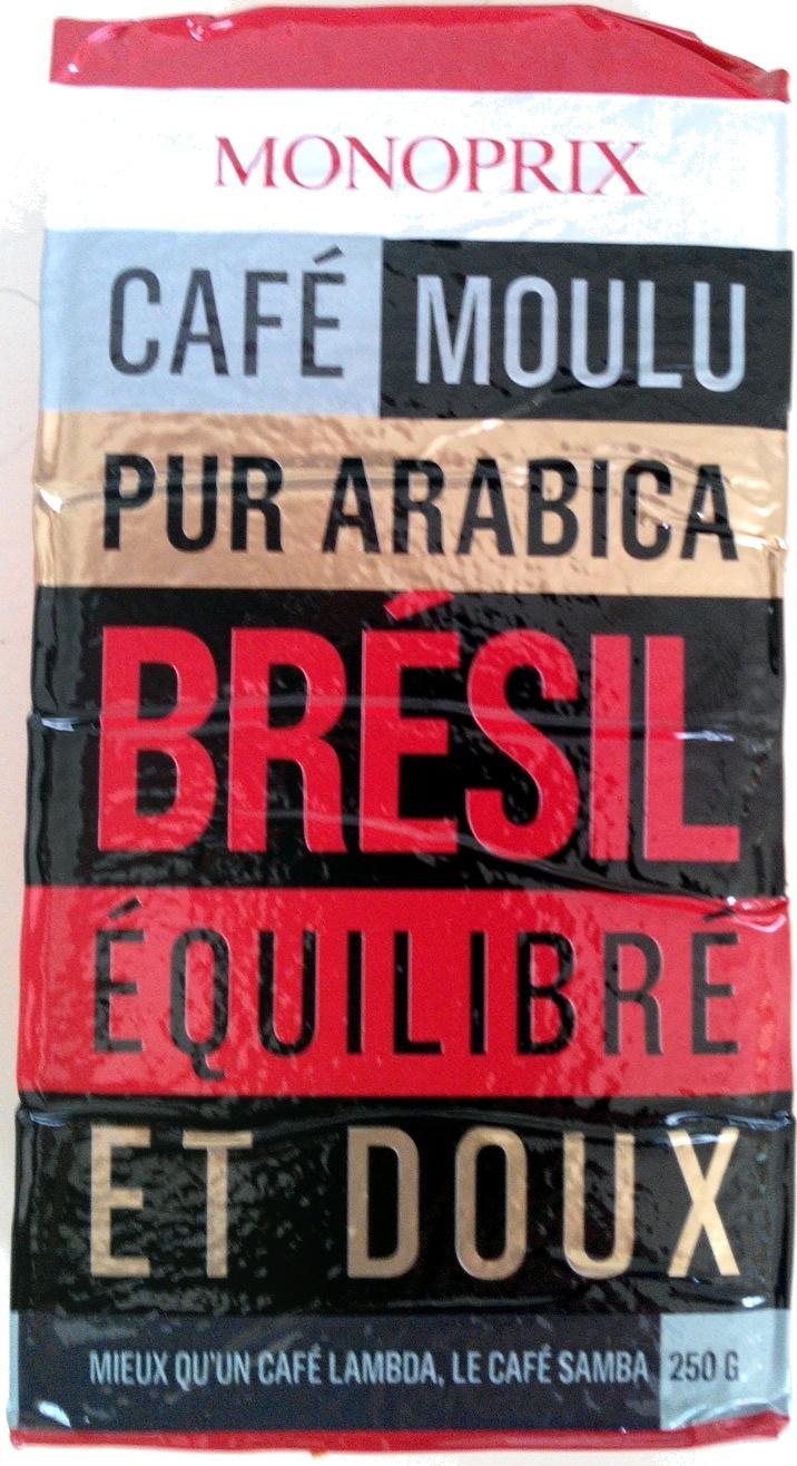 Café moulu pur arabica Brésil - Product - fr