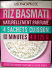 Riz Basmati 4 sachets cuisson Monoprix - Produit