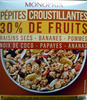 Pépites croustillantes 30% de fruits - Product