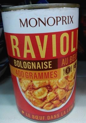 Ravioli Bolognaise au Bœuf - Produit