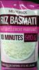 Riz Basmati 10 minutes - Produit