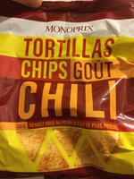 Tortillas Chips goût Chili - Product - fr