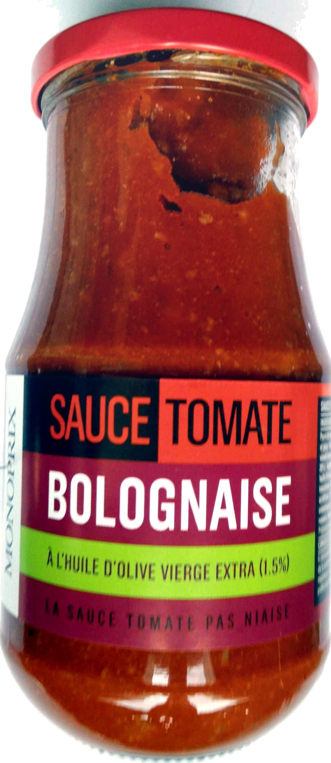 Sauce Tomate Bolognaise - Product - fr