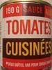 Sauce aux tomates cuisinées - Produit